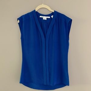 MAX STUDIO • Sleeveless 100% Silk Top • XSmall